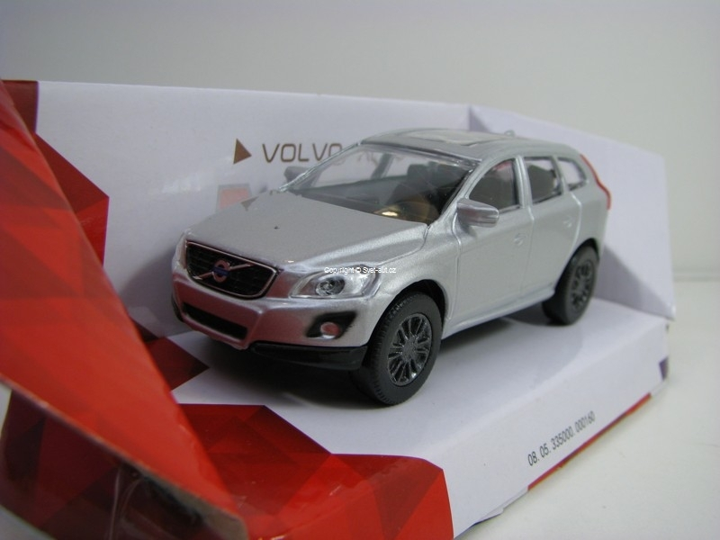Volvo XC60 Silver 1:43 Mondo Motors City